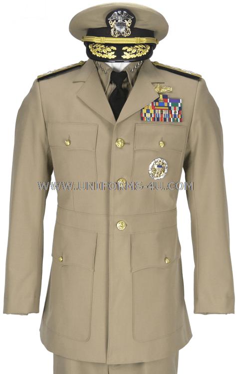 Us Navy Service Dress Khaki Sdk Uniform Khaki Dress Navy Uniforms Us Navy Uniforms