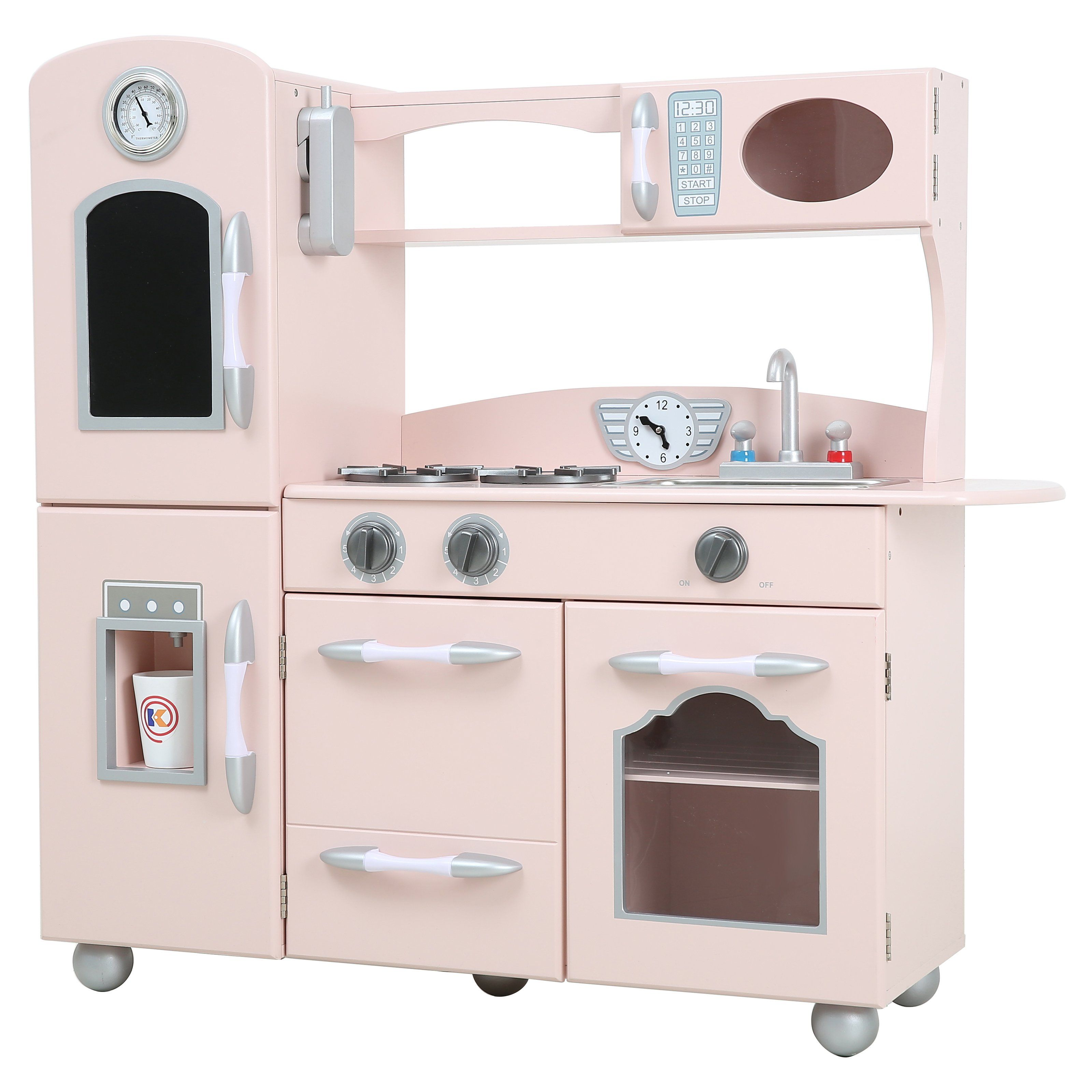 Teamson Kids Wooden Play Kitchen Set From Hayneedle