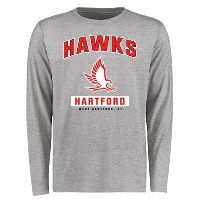 reputable site bb18c d85bd Hartford Hawks Big & Tall Campus Icon Long Sleeve T-Shirt ...