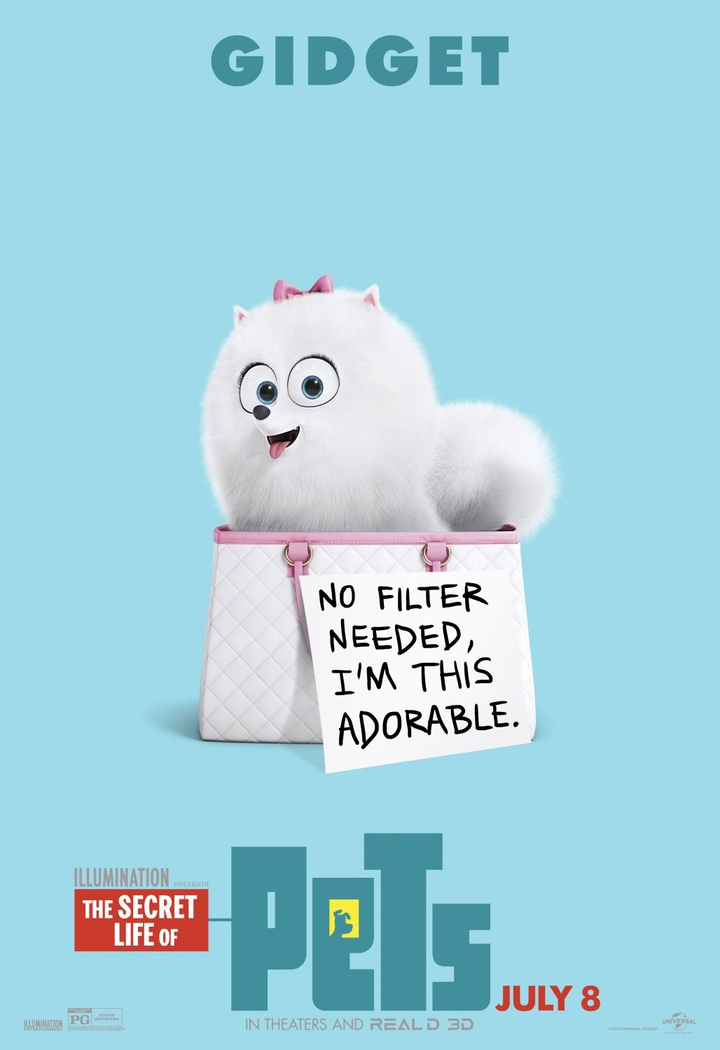 The Secret Life Of Pets Gidget Secret Life Of Pets Pets Movie Funny Wallpapers