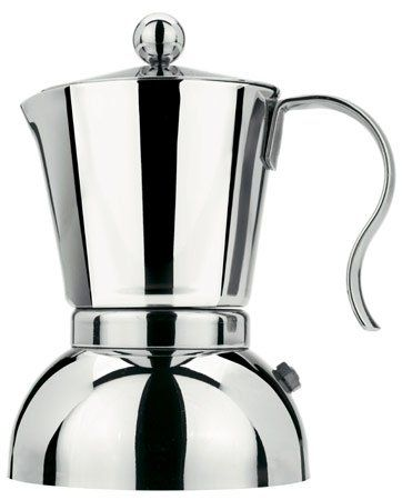 Stella Passione 2 Cup Stainless Steel Stovetop Espresso Maker 402
