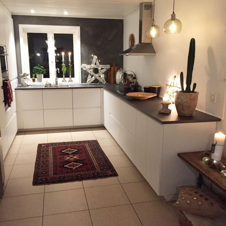 Czarna Sciana I Czarne Blaty W Bialej Kuchni Lovingit Pl Kitchen Inspirations Kitchen Kitchen Cabinets
