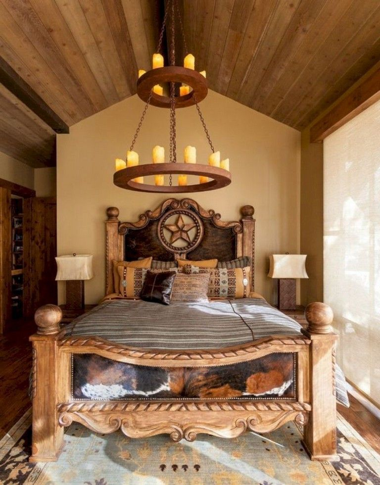 . 50 Unique Western Bedroom Design Decorating Ideas  westerndecor