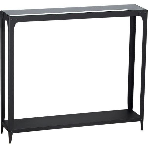 Arc Console Table in Accent Tables | Crate and Barrel ($349) via Polyvore