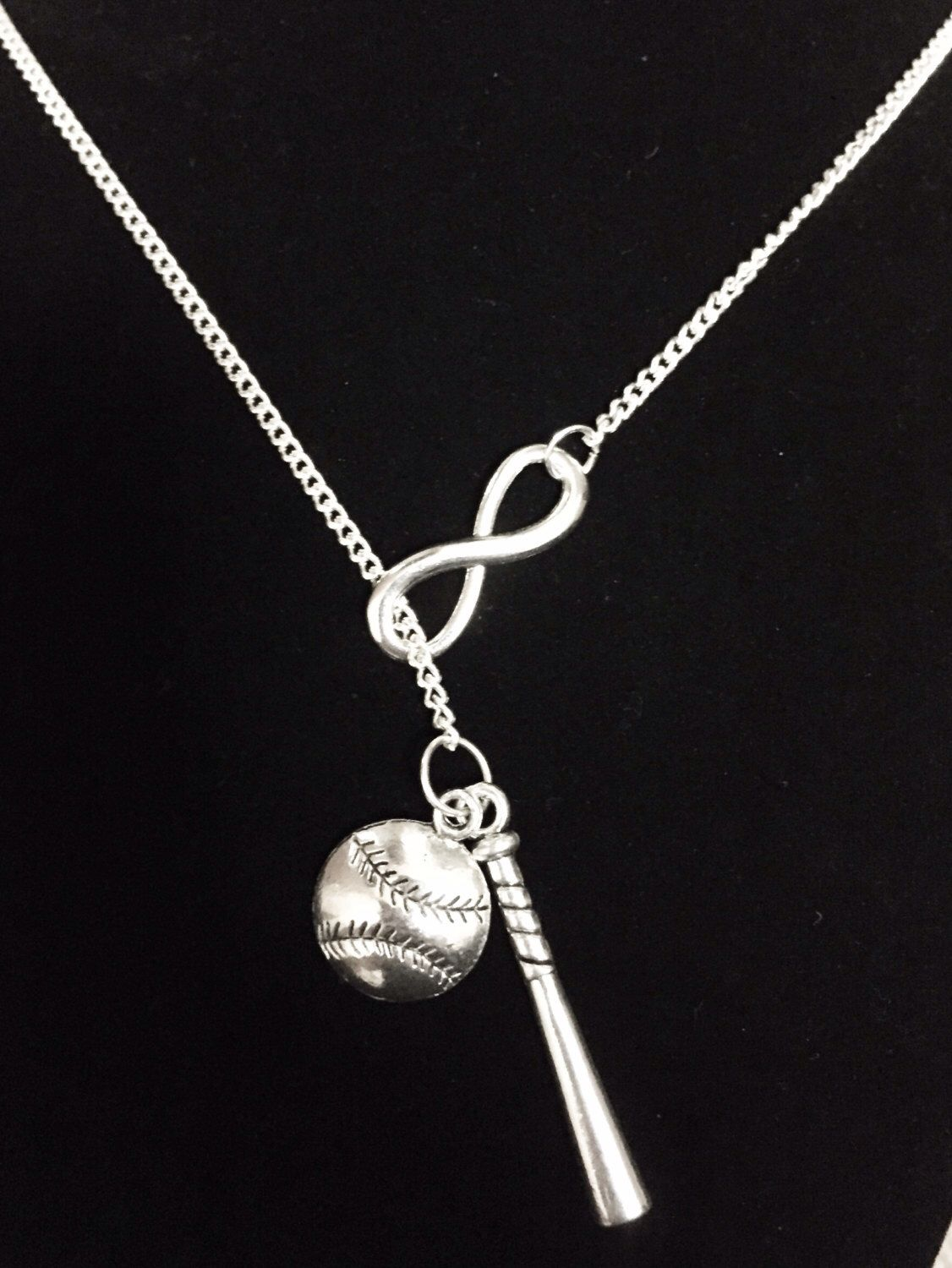 charms necklace and jewelry sports carat softball custom