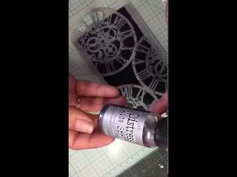 En liten demo med mica sprays - YouTube