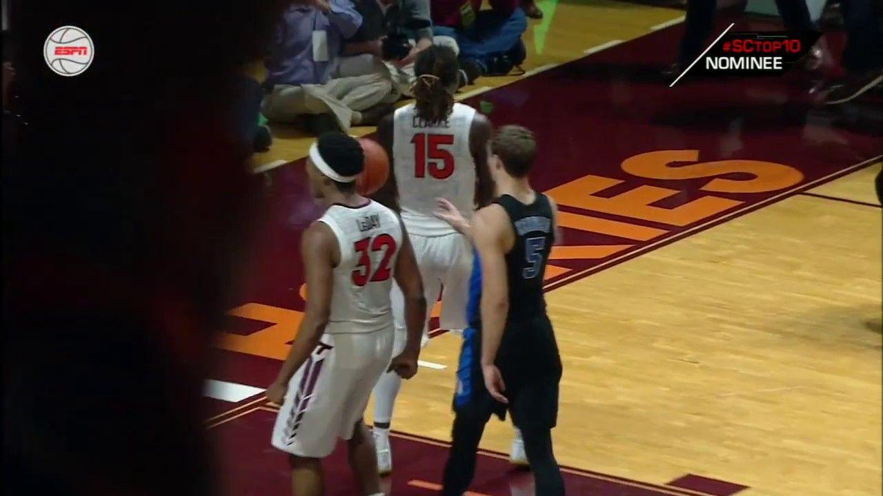 LSU's Chark makes sensational catch, loses helmet