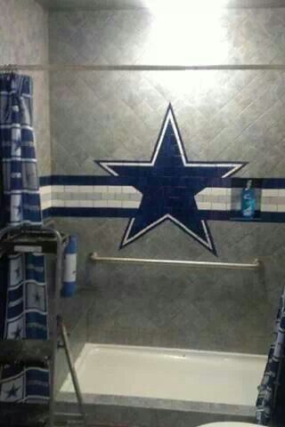 Dallas Cowboys Bathroom