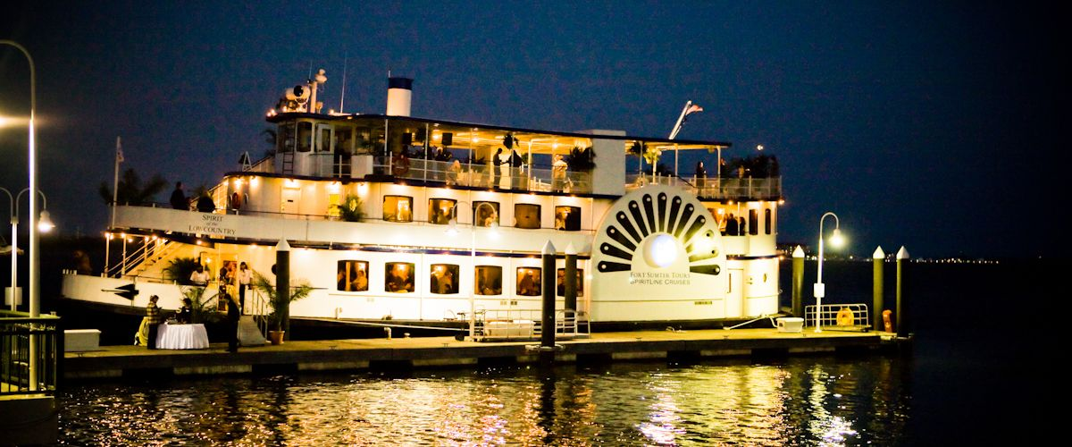 Charleston Harbor Tours Dinner Cruises SpiritLine Cruises - Cruise ships out of charleston south carolina