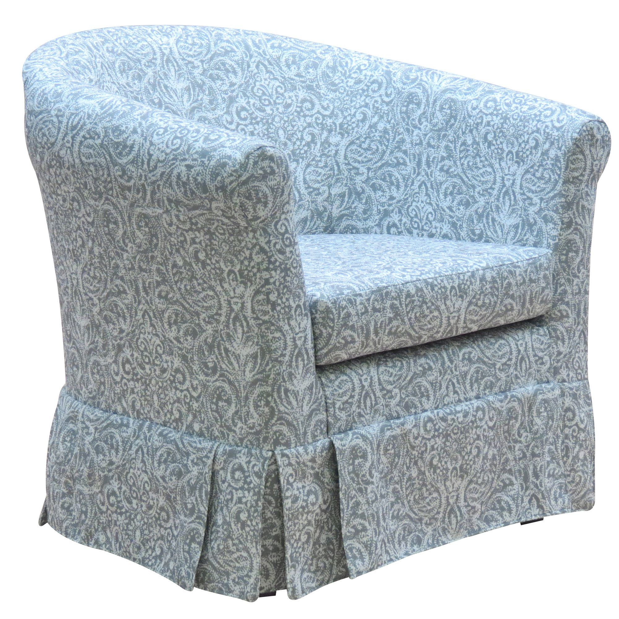 Liam Skirted Club Chair