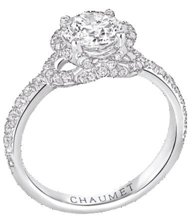 bague solitaire diamant chaumet