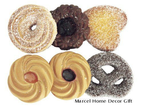 Fake Artificial Cookies, Food, Display 6pcs, Kitchen Decor by Marcel Imports, http://www.amazon.com/dp/B004KUAC0O/ref=cm_sw_r_pi_dp_P5aasb100YQ90