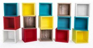 Floor/Wall Cube Driftwood | Topshelf