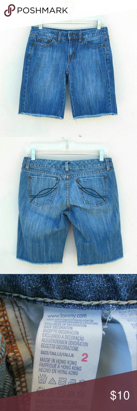 Tommy Hilfiger Denim Jeans Shorts Size 2 I offer bundle discounts :) Tommy Hilfiger Jeans