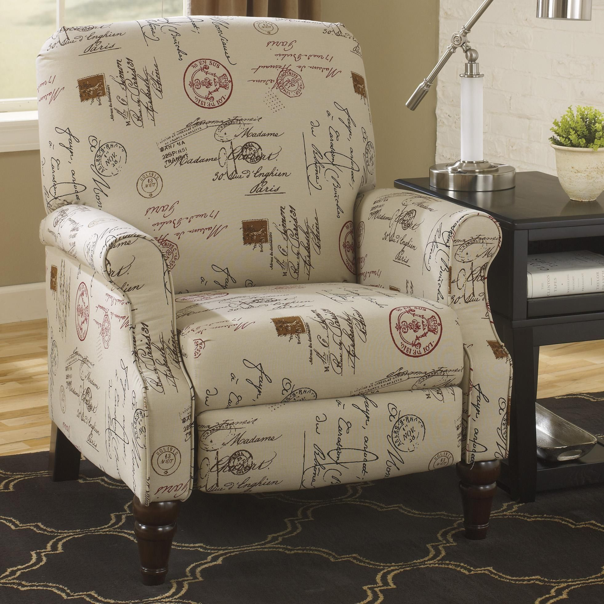 Chair and a half recliner ashley furniture - Placido High Leg Recliner By Signature Design By Ashley Furniture