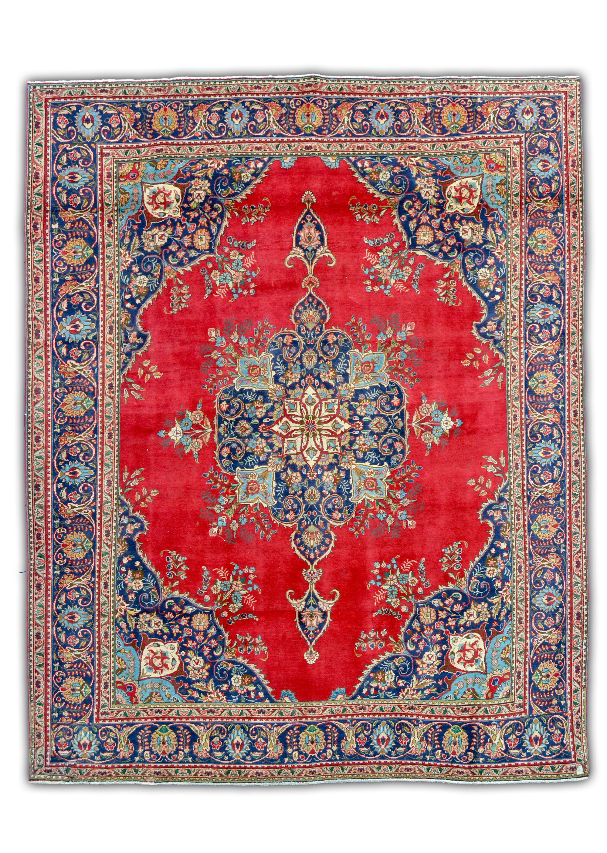 Alfombras persas leg timas telas alfombras y bordados for Alfombra persa azul