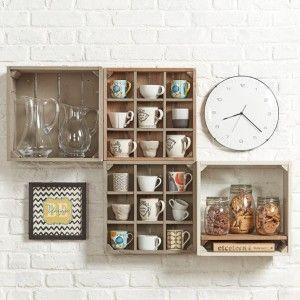 Artisan Crate Shop Interiors | Creative Rustic Shop fitting Displays