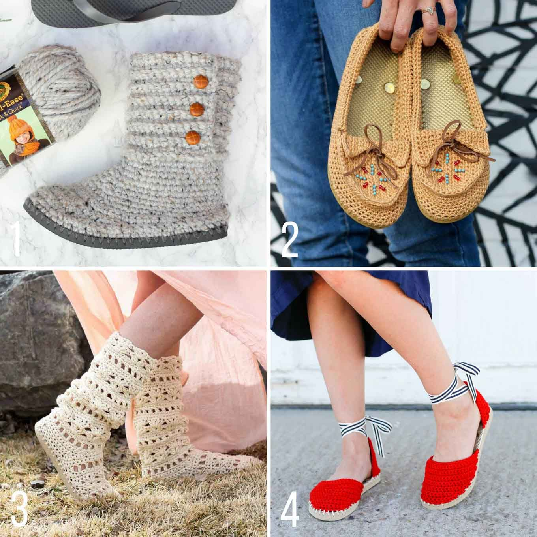 Make Cheap Flip Flops Into Crochet Slippers -- free ... - photo#20