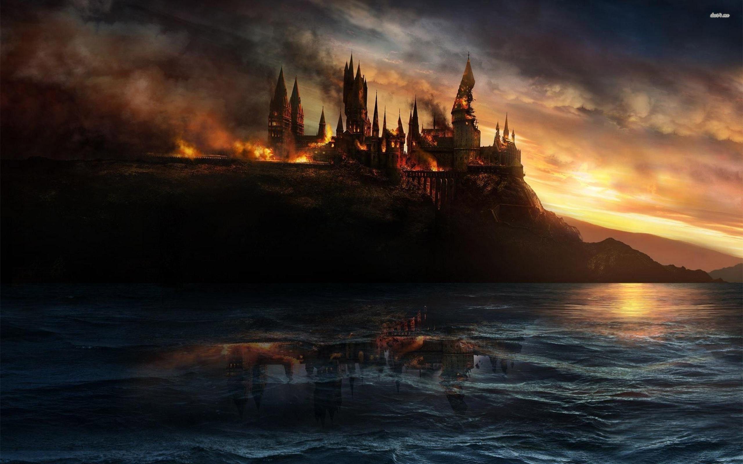 Wallpaper Harry Potter Harry Potter Castelos Assombrados