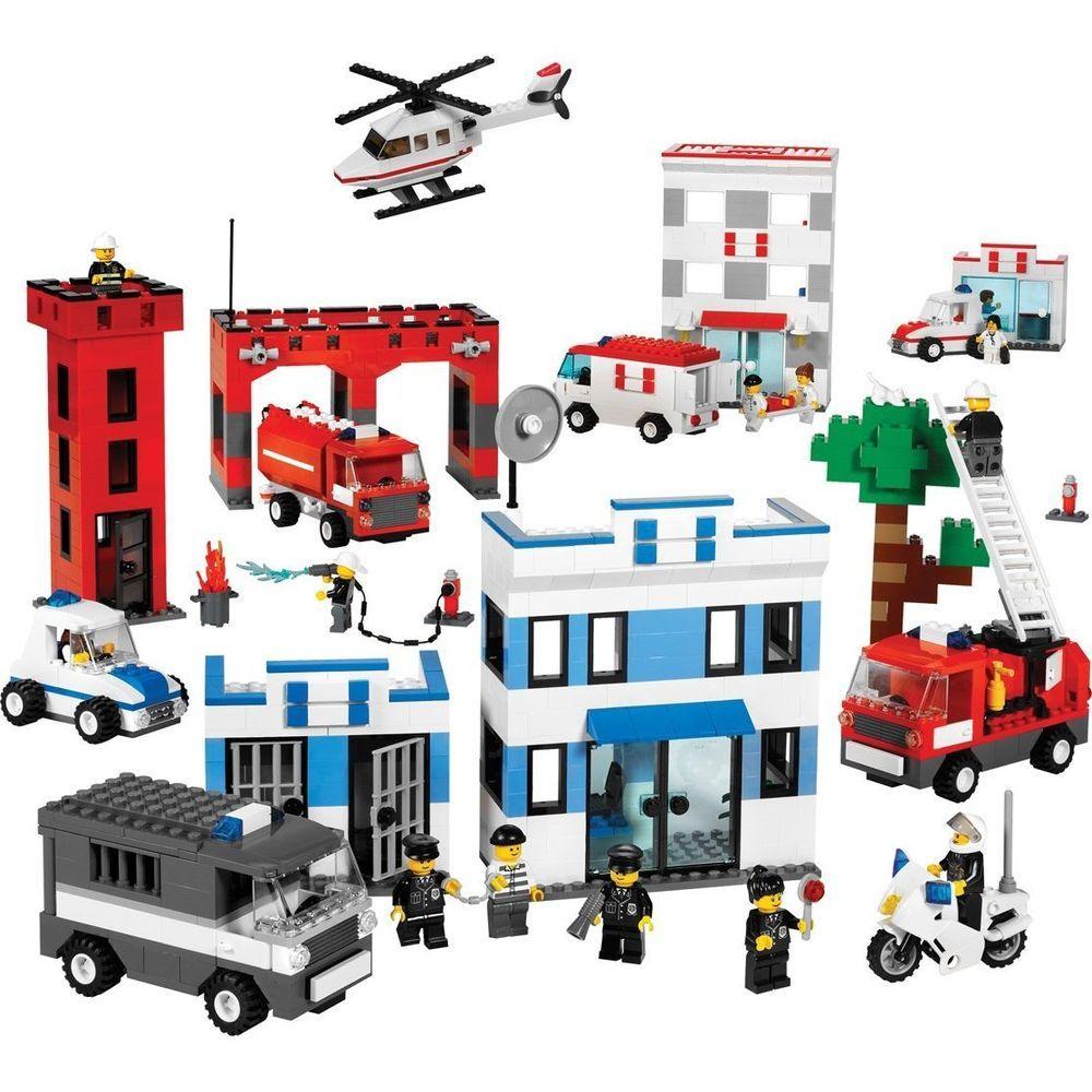 LEGO Education Rescue Services Set 9314 (1,490 Pieces ...