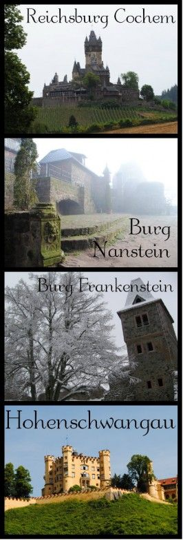 What's the Difference Between a Schloss and a Burg? Also, what about Berg? German vocabulary. www.germanyja.com