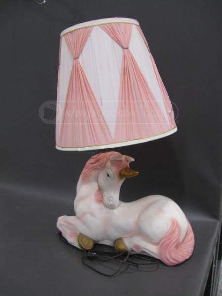 22428741 Vintage Large Unicorn Table Lamp 6 30 2015 5 00 00 Pm Unicorn Lamp Lamp Table Lamp
