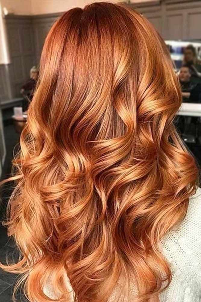 Red Hair copper red hair color