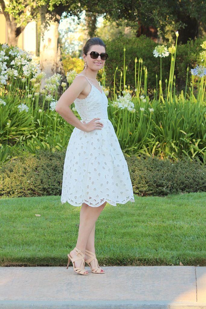 Style me Lauren lace cut out dress