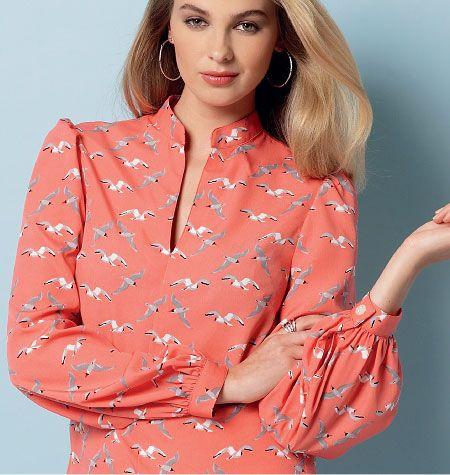 Mccall Pattern V9085 L-Xl-Xxl -Vogue Pattern   Products   Pinterest ...