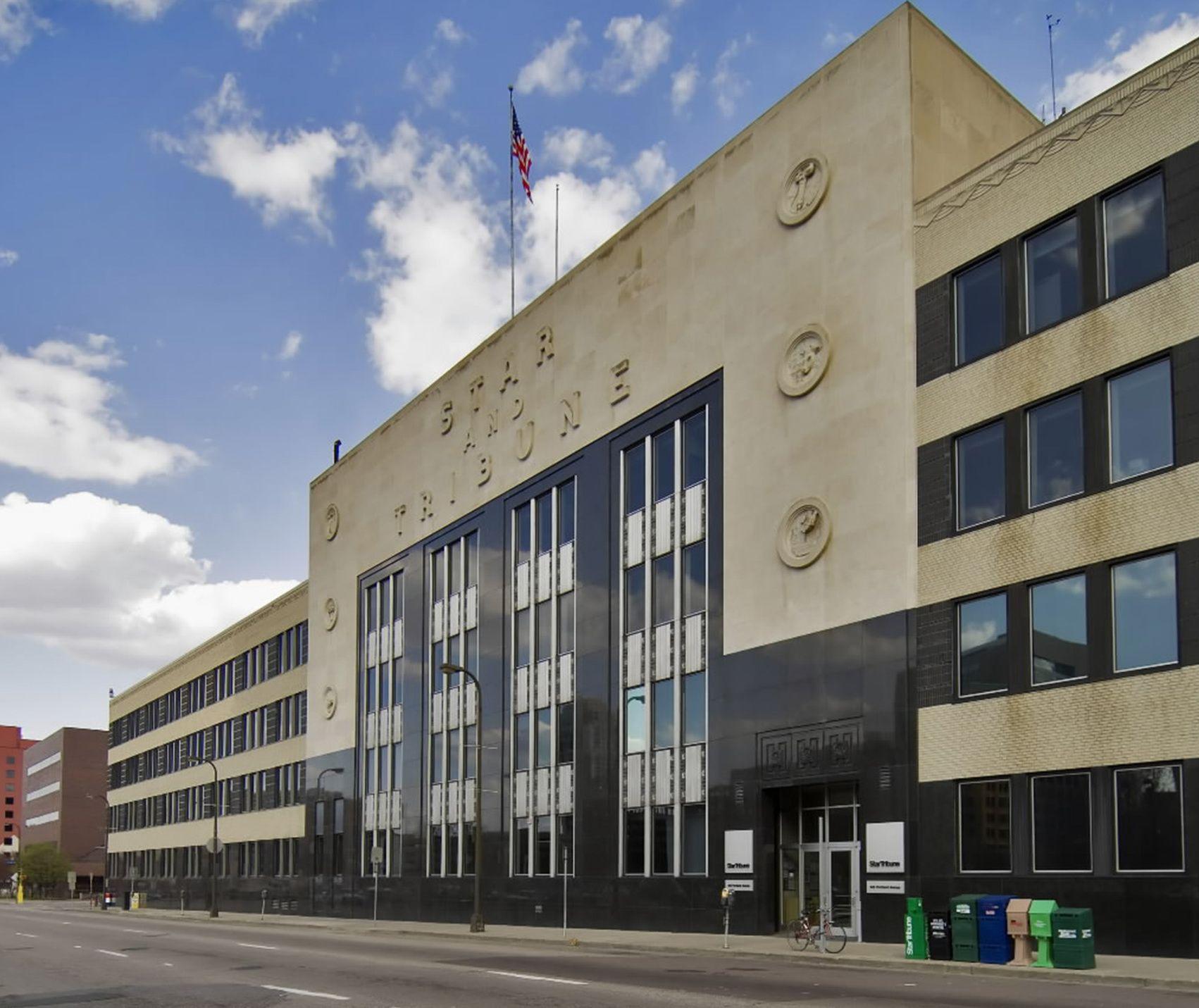 Streetscapes: Star Tribune is last of Minneapolis newspaper buildings | Star Tribune