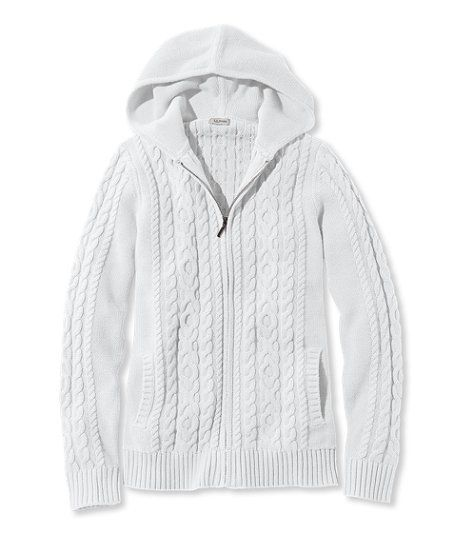 Double L Mixed Cable Sweater, Zip-Front Hoodie | My Wardrobe ...