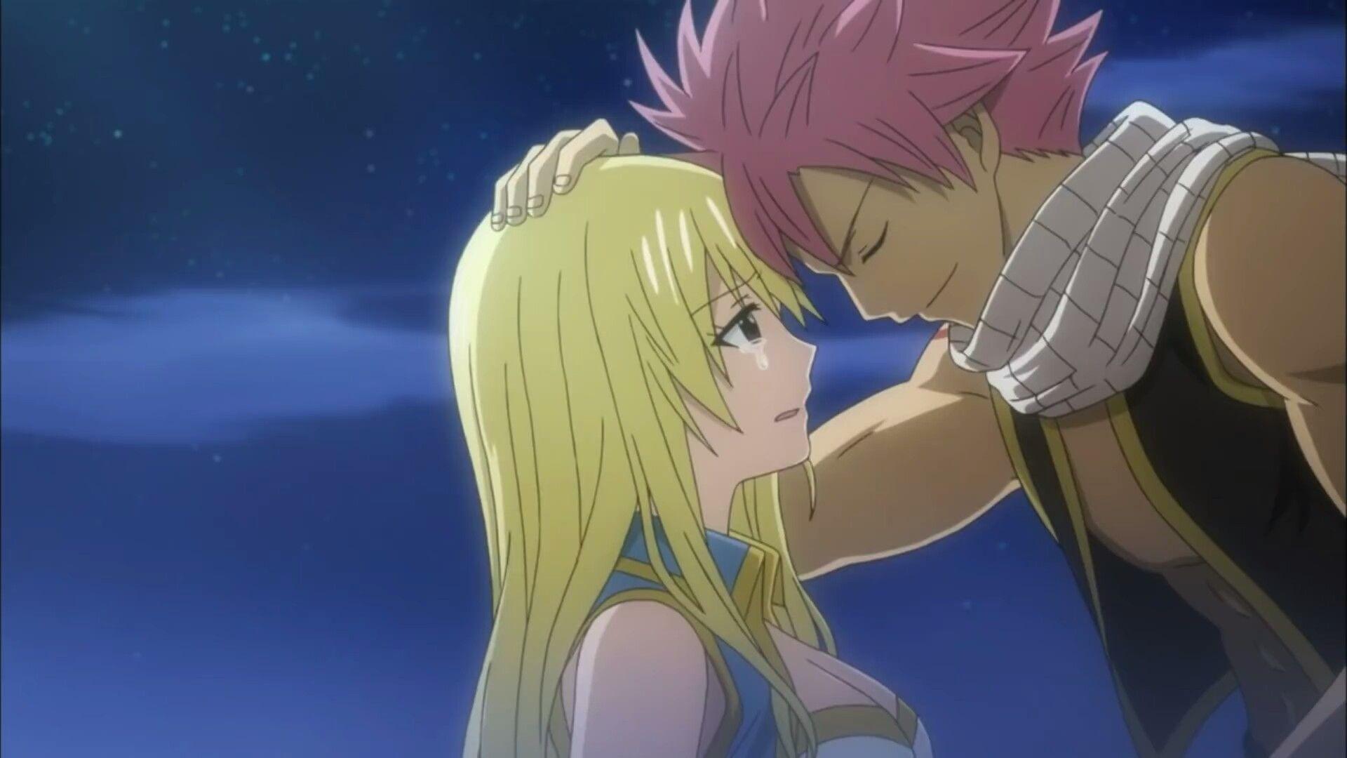 Fairy Tail Opening 15 NaLu Moment, Natsu x Lucy Fairy