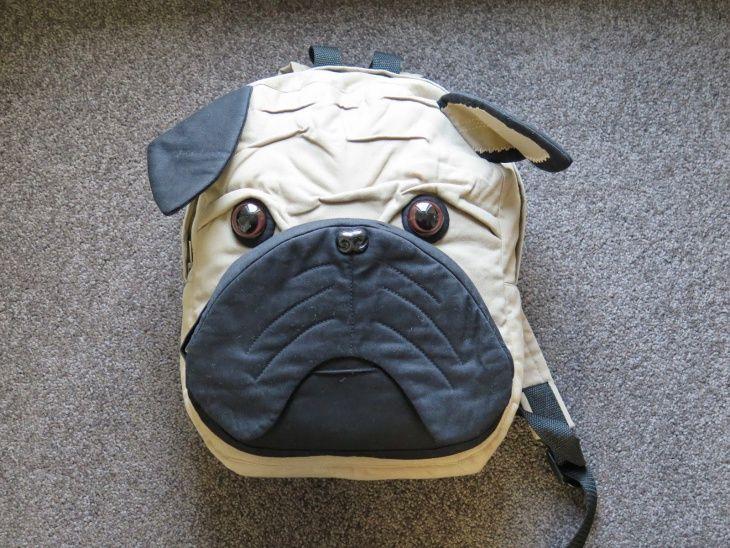 рюкзак в виде бульдога мопса   Bags sew (сумки)   Pinterest