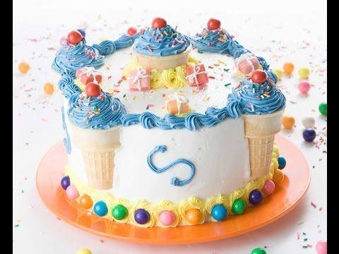 Super Easy Kindergeburtstag Kuchen Dekorieren In 5 Minuten Mit