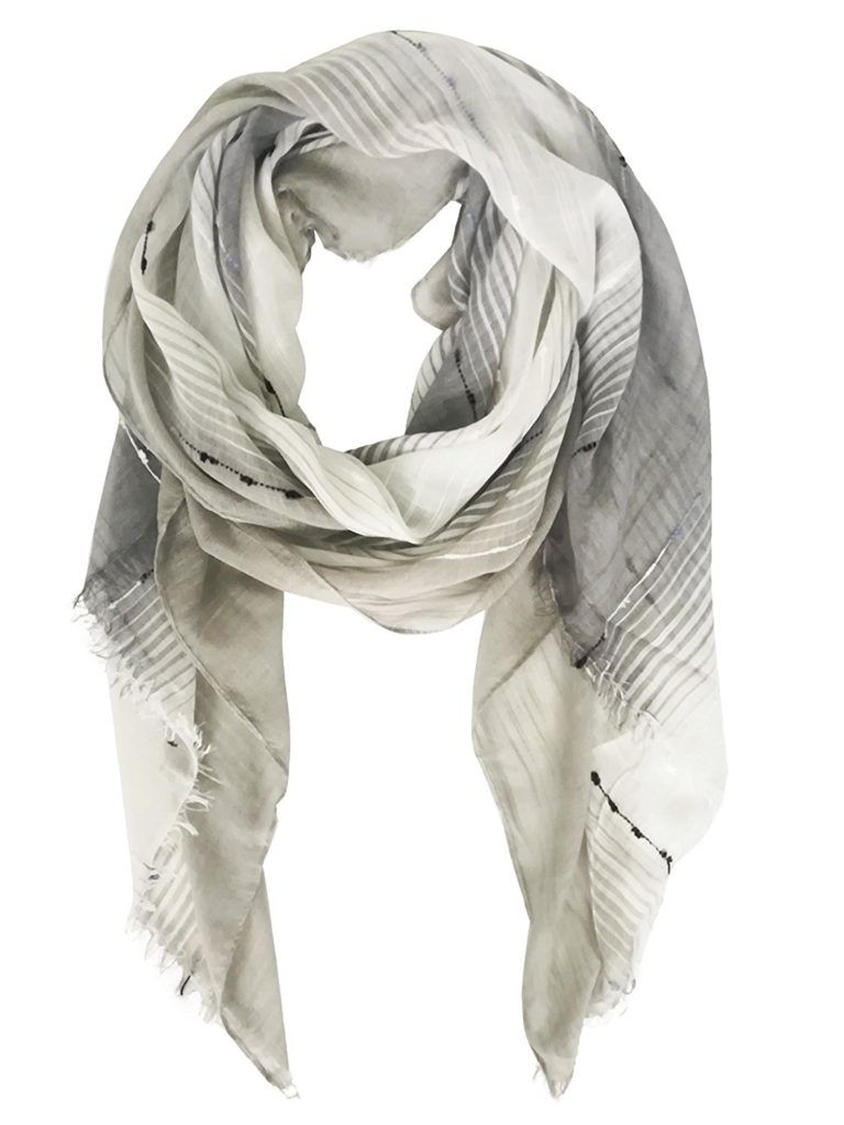 a0c2959bffd51 Deria Lightweight Soft Fringes Scarf for Women-Spring Summer Scarves Shawl  Wrap