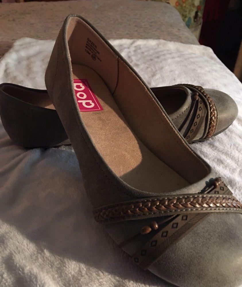 29fee85b814e Women s ballet flat NIB GREY with rope trim. So cute ! 10 M  fashion   clothing  shoes  accessories  womensshoes  flats (ebay link)