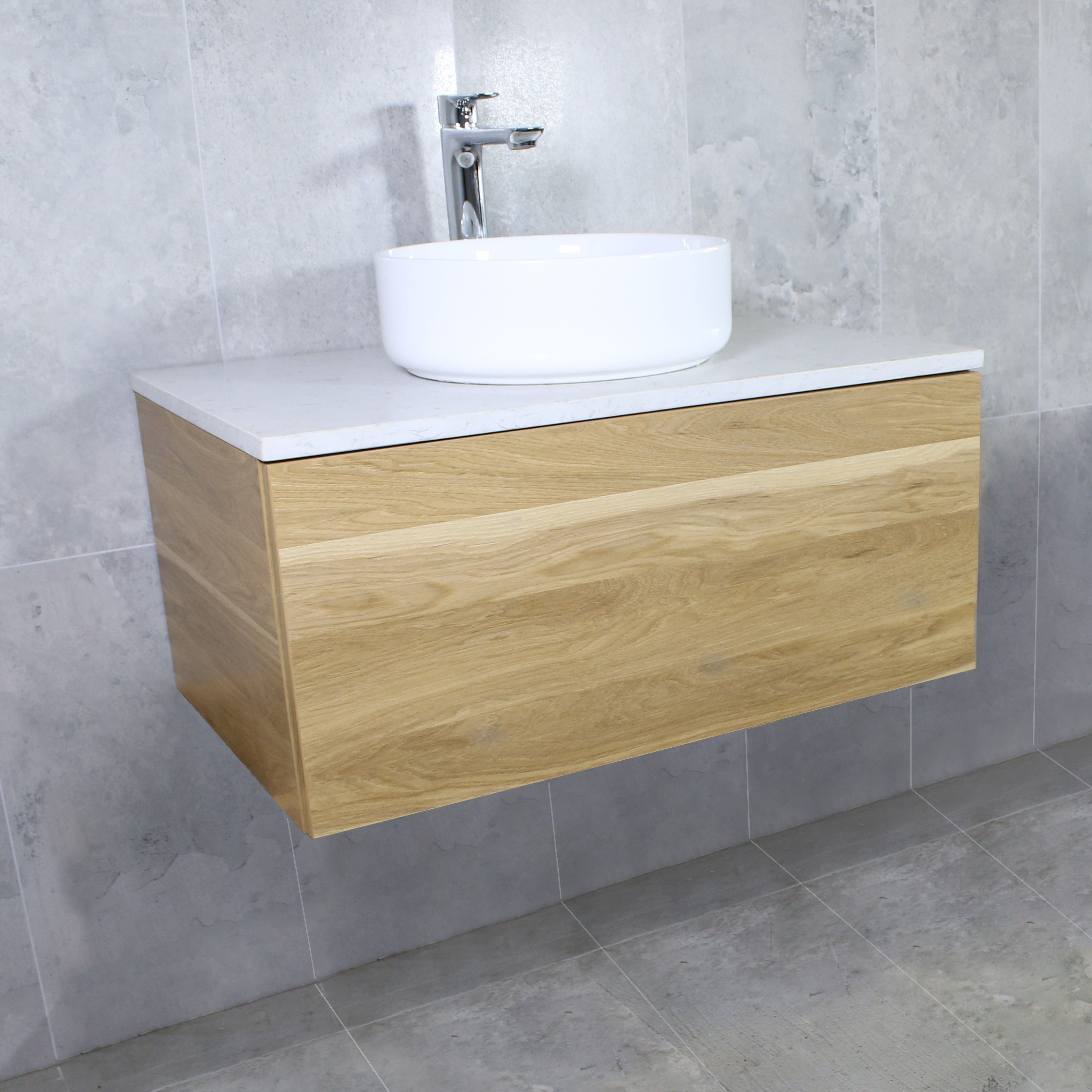 The Awesome Web Eden Timber Wall Mount Vanity Cabinet without Top mm