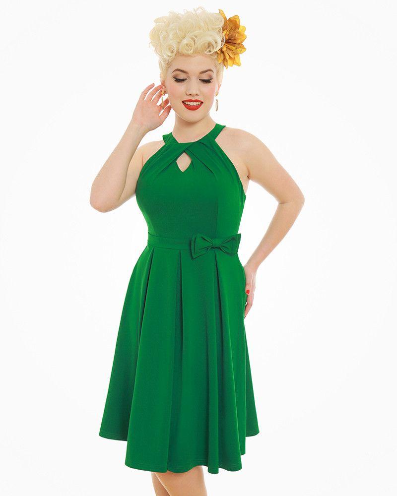 Cherel Green Swing Dress Dresses Swing Dress Unique Dresses Dress Patterns [ 1000 x 800 Pixel ]