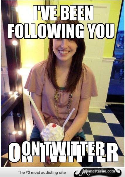 Misunderstood Girlfriend: following you...