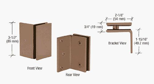 Crl Antique Bronze Geneva Series Wall Mount Bracket By C R Laurence 195 29 Matches Configuration Of Geneva Wall Mount Bracket Home Hardware Shelf Brackets