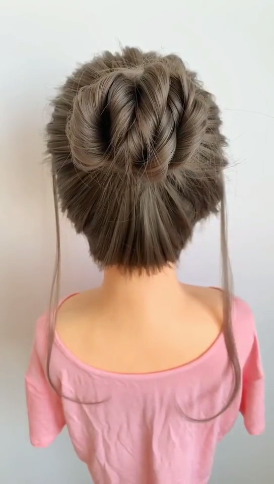 braided hairstyles for wedding half up videos Creating a Simple Half-Up And 25 H…