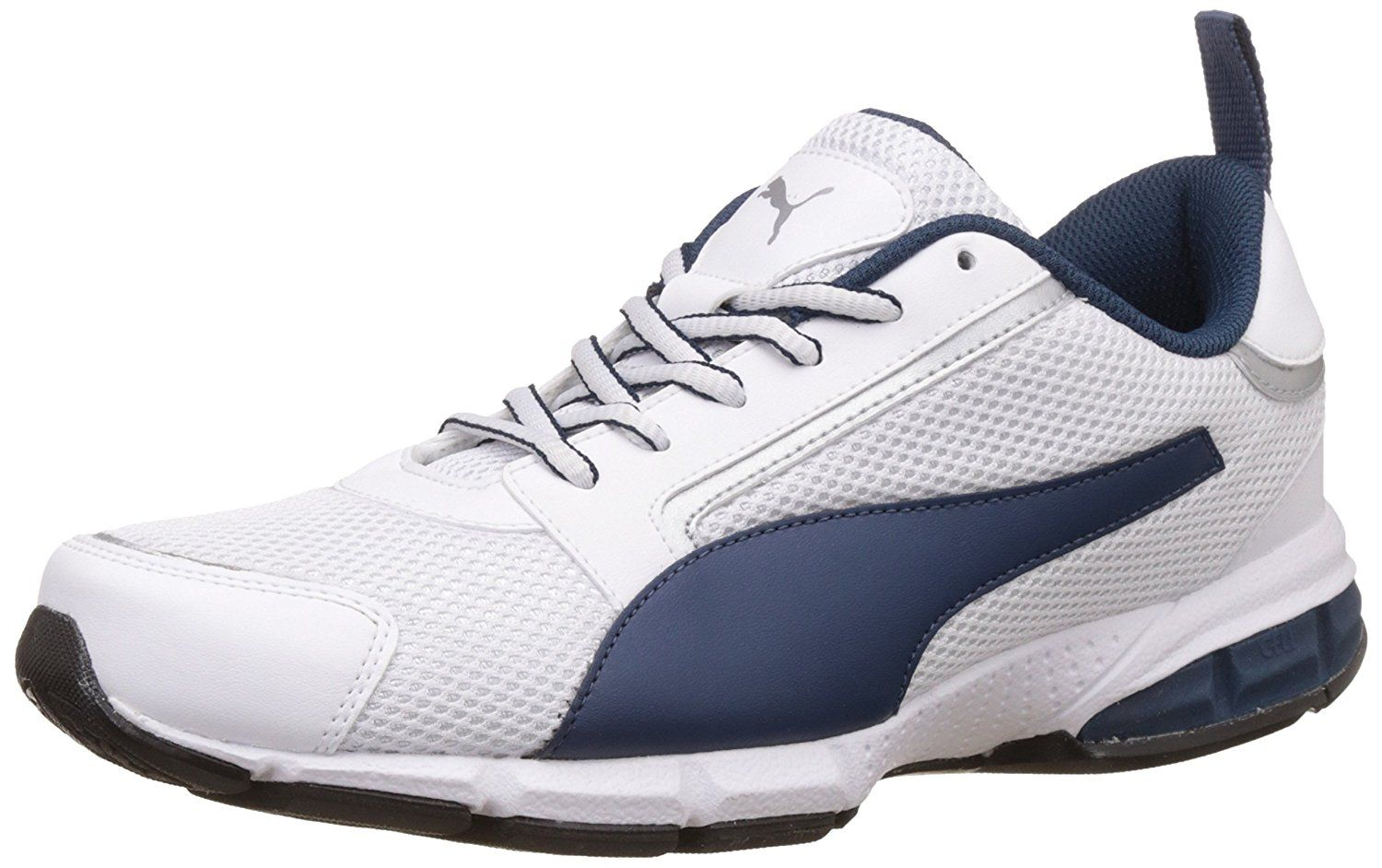 Colour Puma White Blue Wing Teal And Puma Silver Material Type