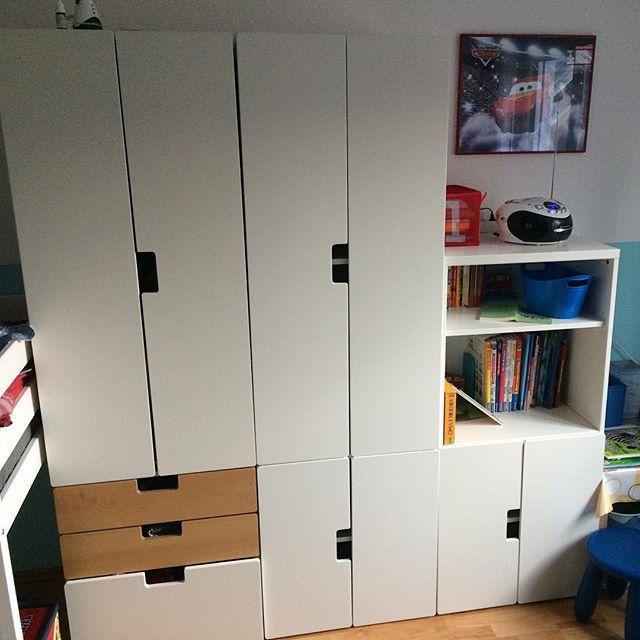 und kinderzimmer nr 2 ist auch fertig ikea stuva nur. Black Bedroom Furniture Sets. Home Design Ideas
