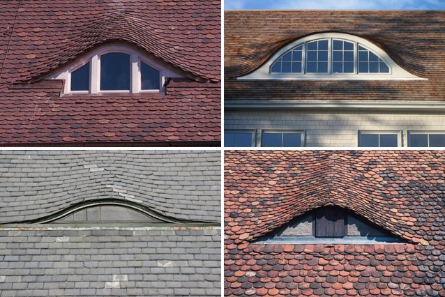 Eyes in architecture eyelid windows eyebrow dormers for Eyebrow dormer windows