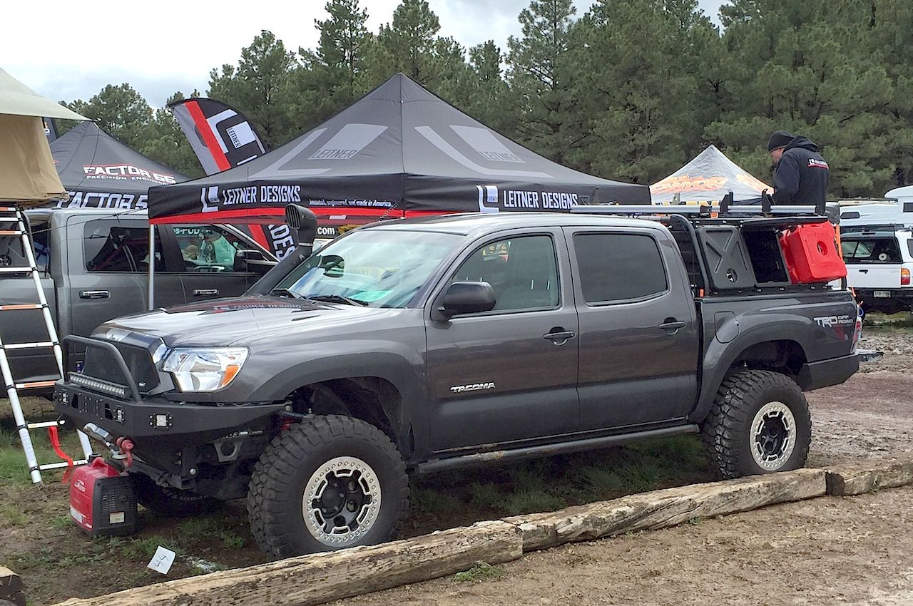 Toyota Tacoma Leitner Designs Overland Off Road The Fast