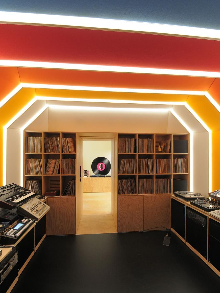 Photo of Spaceship-inspired music studio lands in Paris for French electronica star  #Recordingstudiod…