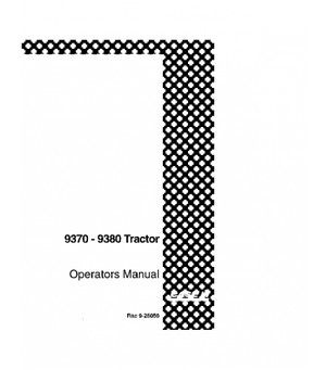 CASE IH 9370 9380 TRACTOR OPERATORS MANUAL DOWNLOAD