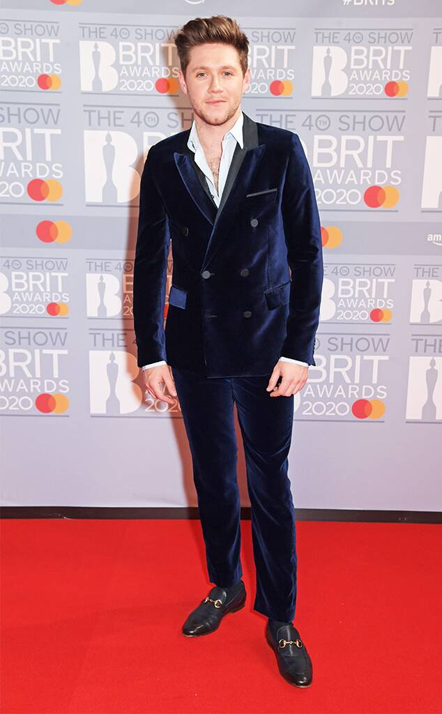 Niall Horan From Brit Awards 2020 Red Carpet Arrivals Brit Awards Style Red Carpet
