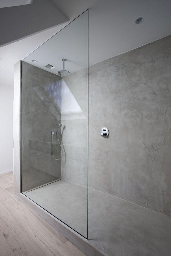 Beton Im Bad Bad Einrichten Bad Neu Gestalten Badezimmer Renovieren