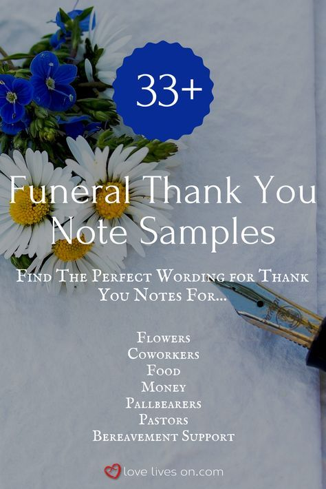 33+ Best Funeral Thank You Cards Funeral and Faith